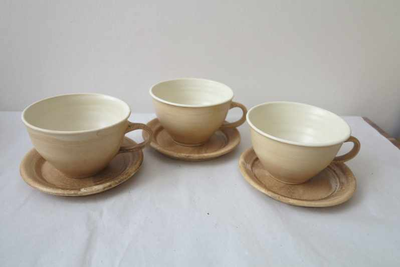 Tea Cups with the Saucer